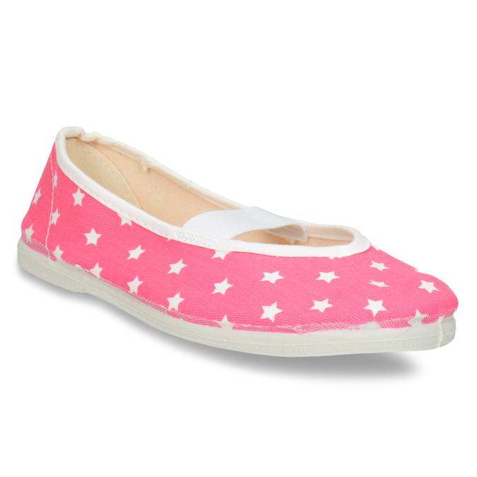 Detské cvičky s hviezdičkami bata, ružová, 379-5217 - 13