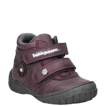 Členková dievčenská obuv bubblegummers, fialová, 121-9622 - 13