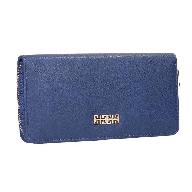 Modrá dámska peňaženka bata, modrá, 941-9180 - 13