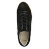 Kožené tenisky na výraznej flatforme bata, čierna, 523-6604 - 26