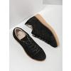 Kožené tenisky na výraznej flatforme bata, čierna, 523-6604 - 19