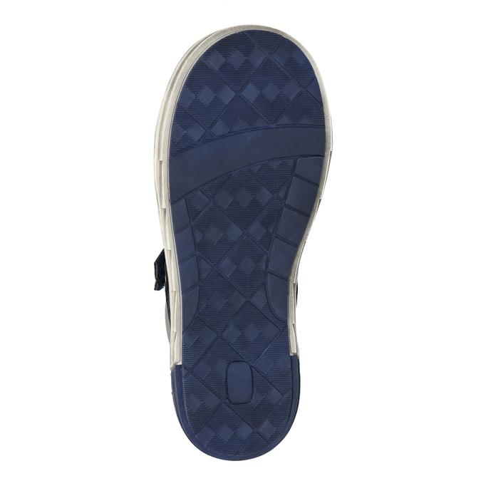 Detská členková obuv mini-b, modrá, 211-9624 - 19