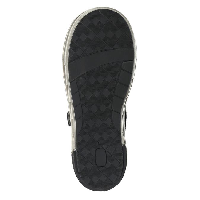 Členková detská obuv na suchý zips mini-b, šedá, 211-2624 - 19