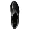 Dámska kožená členková obuv bata, čierna, 694-6641 - 26