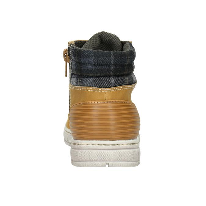 Detská zimná obuv s výraznou podrážkou mini-b, hnedá, 311-8611 - 17