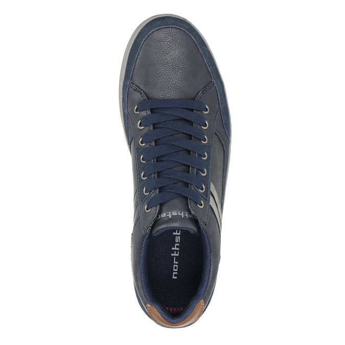 Ležérne pánske tenisky north-star, modrá, 841-9607 - 26