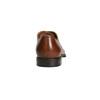 Kožené Oxford poltopánky so zdobením bata, hnedá, 826-3690 - 17