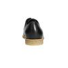Kožené poltopánky s ležérnou podrážkou bata, čierna, 824-6412 - 17