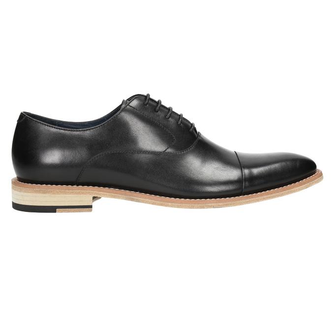 Celokožené Oxford poltopánky bata, čierna, 824-6414 - 15
