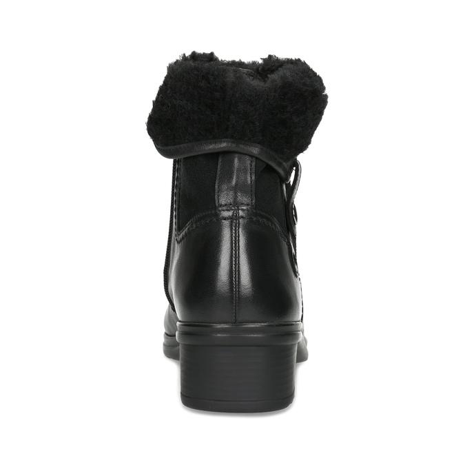 Dámska zimná obuv gabor, čierna, 614-6127 - 15
