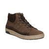 Členkové pánske tenisky bata, hnedá, 846-4651 - 13