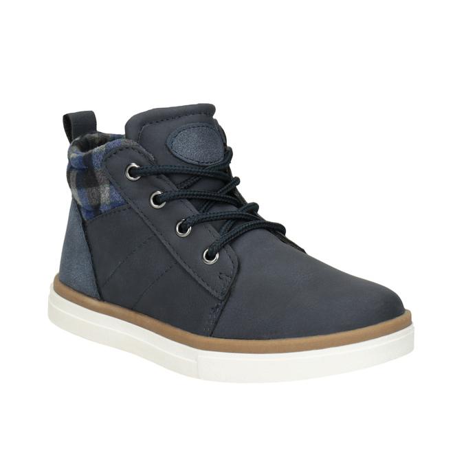 Detská členková obuv mini-b, modrá, 291-9172 - 13