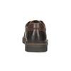 Kožené pánske ležérne poltopánky s prešitím bata, hnedá, 826-4917 - 15