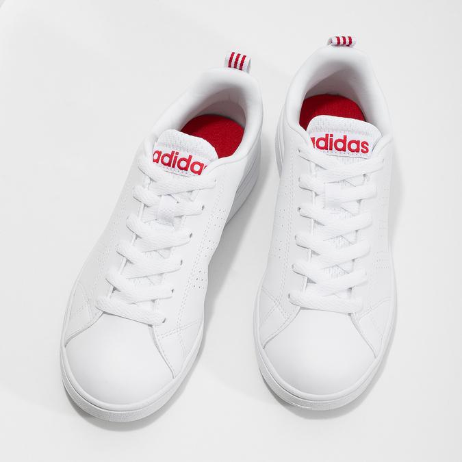 Biele dámske tenisky adidas, biela, 501-5500 - 16