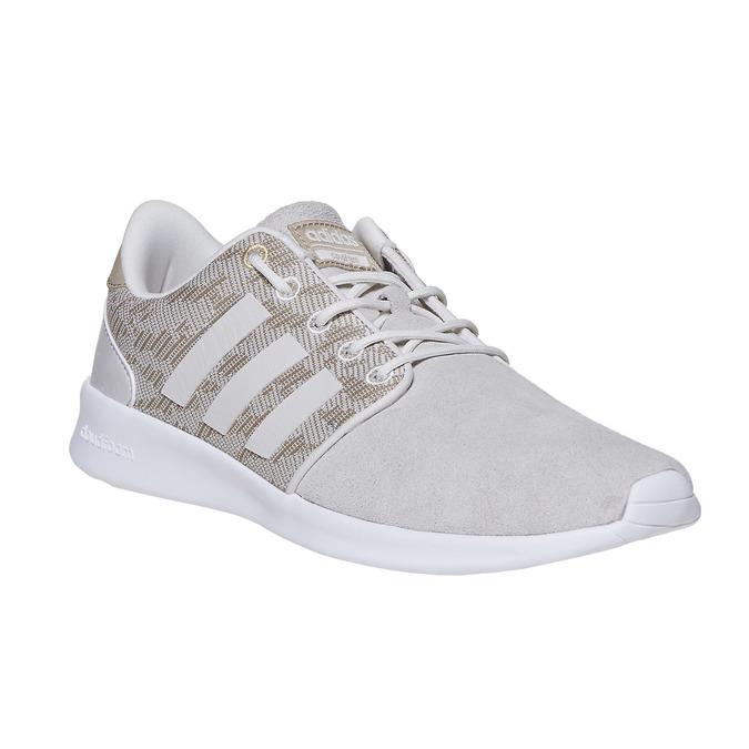 Dámske tenisky so vzorom adidas, béžová, 503-3111 - 13