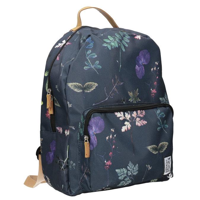 Modrý batoh s potlačou the-pack-society, modrá, 969-9085 - 13