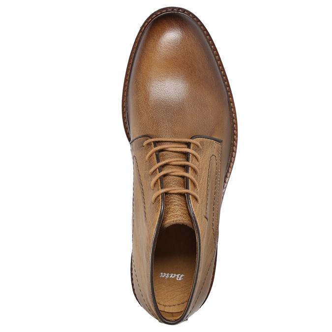 Pánske kožené Chukka Boots bata, hnedá, 826-2919 - 15