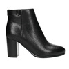 Členková obuv na podpätku bata, čierna, 691-6634 - 15