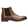 Hnedé kožené Chelsea Boots bata, hnedá, 896-3673 - 15