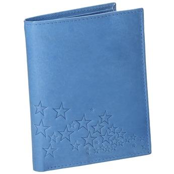 Modrá kožená peňaženka bata, modrá, 944-9179 - 13