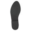 Čižmy nad kolená z brúsenej kože bata, čierna, 593-6605 - 19