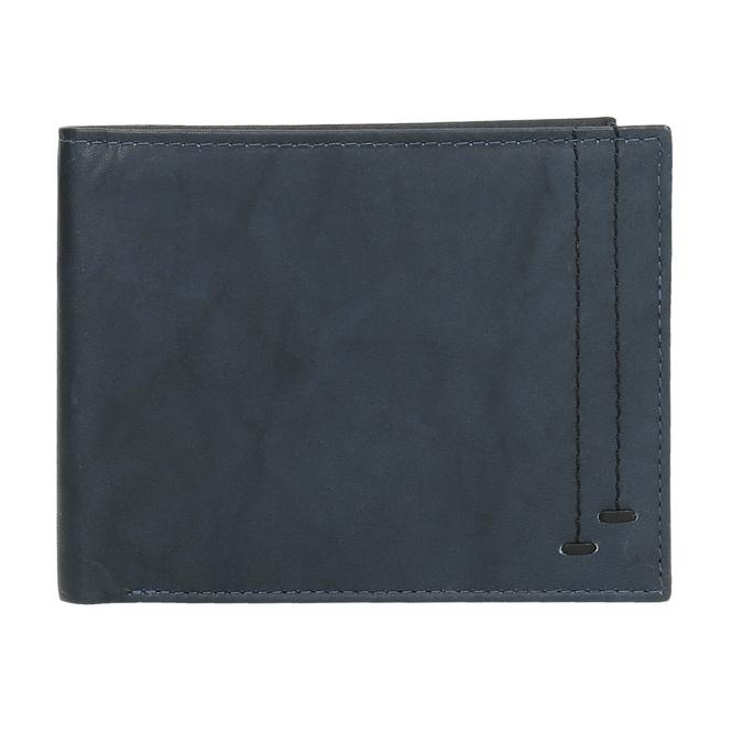 Pánska modrá kožená peňaženka bata, modrá, 944-9183 - 15