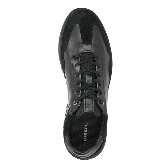 Pánske kožené tenisky diesel, čierna, 804-6626 - 15