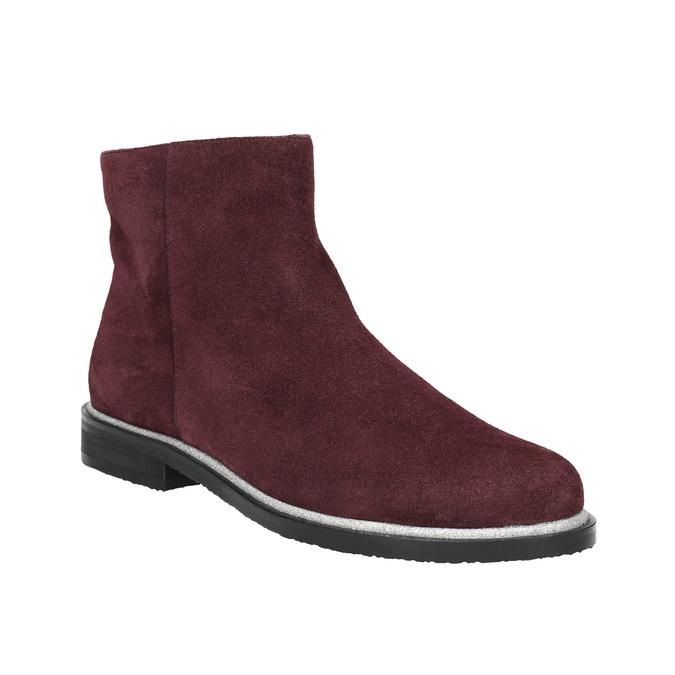 938a46755b Baťa Členková obuv z brúsenej kože - Silver Line