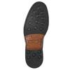 Hnedé ležérne poltopánky z kože bata, hnedá, 826-4914 - 19
