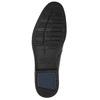 Kožená pánska členková obuv bata, čierna, 824-6913 - 19