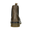 Dámska kožená Chelsea obuv bata, hnedá, 596-7680 - 16