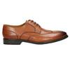 Kožené pánske Ombré poltopánky bata, hnedá, 826-3914 - 15