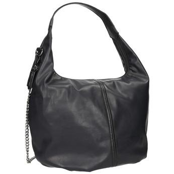 Hobo kabelka s retiazkou bata, čierna, 961-6765 - 13