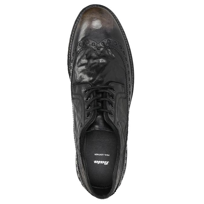 Ležérne pánske poltopánky bata, hnedá, 826-4916 - 26