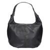 Hobo kabelka s retiazkou bata, čierna, 961-6765 - 17