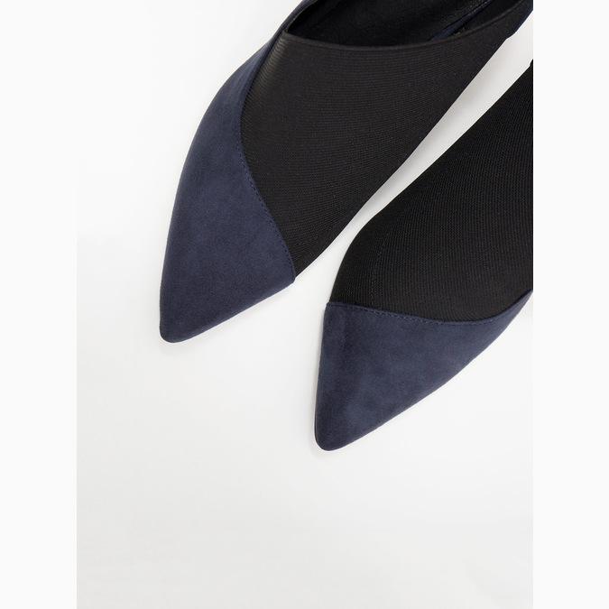 Dámske lodičky na ihličkovom podpätku insolia, modrá, 729-9608 - 18