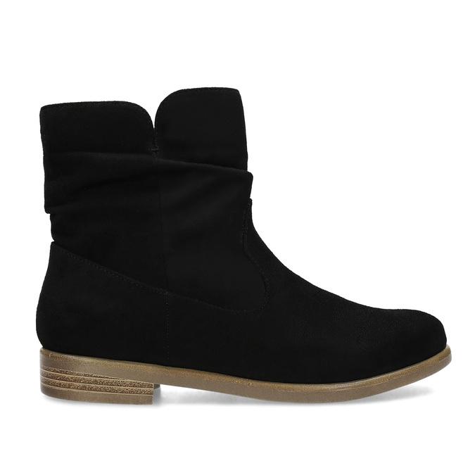 Dámské členkové čižmy bata, čierna, 599-6614 - 19