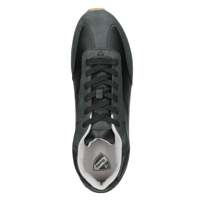 Pánske ležérne tenisky atletico, čierna, 801-6180 - 15