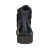 Pánska členková obuv bata, čierna, 896-6664 - 17