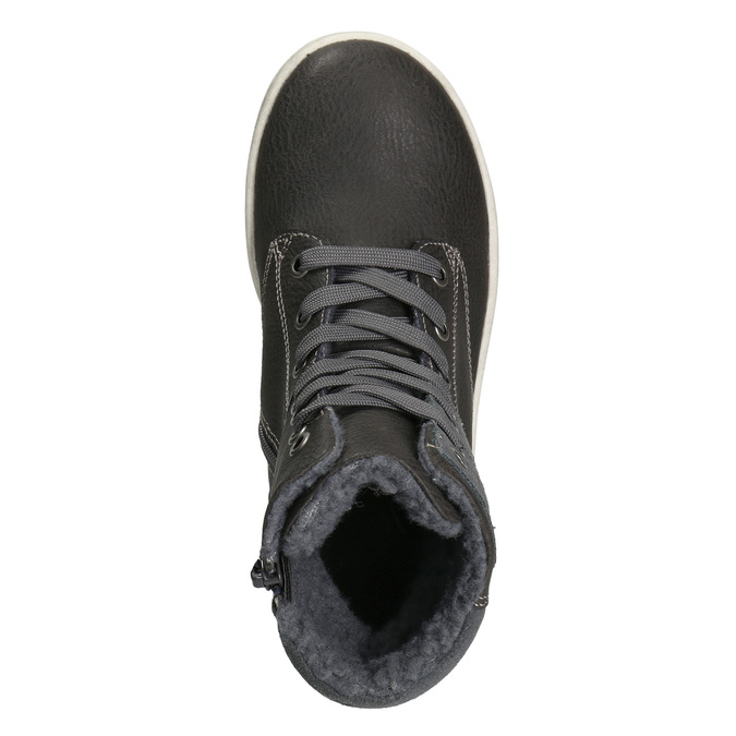 Členková detská obuv mini-b, šedá, 494-2655 - 26