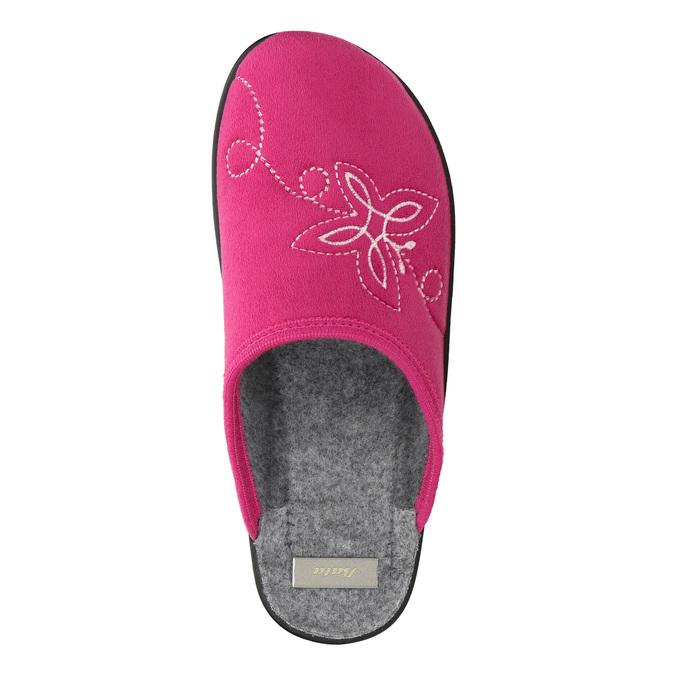 Ružové dámske papuče bata, ružová, 579-5621 - 26
