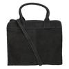 Kožená kabelka s Ombré efektom fredsbruder, čierna, 966-6056 - 16