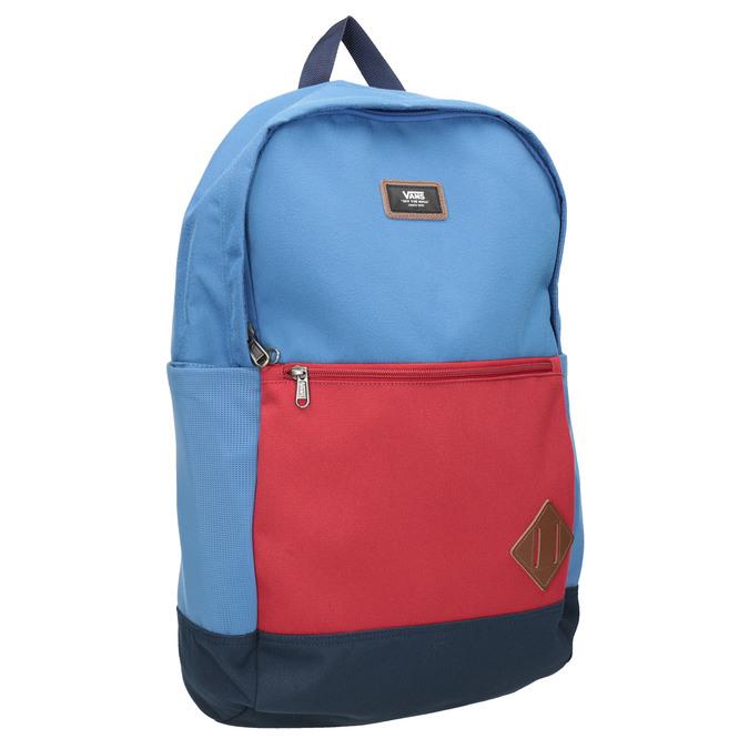 Modrý batoh s červeným vreckom vans, modrá, 969-9095 - 13