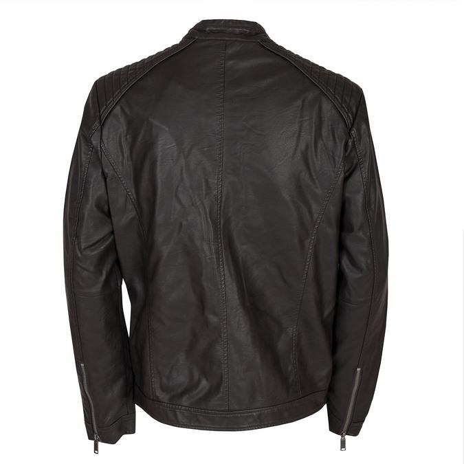 Koženková pánska bunda bata, hnedá, 971-4103 - 26