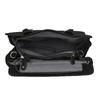 Kožená kabelka s Ombré efektom fredsbruder, čierna, 966-6056 - 15