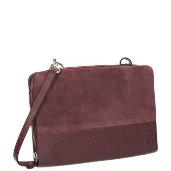 Kožená červená Crossbody kabelka royal-republiq, červená, 963-5050 - 13
