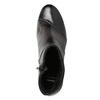 Kožená členková obuv na podpätku bata, šedá, 796-2650 - 15