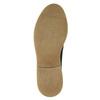 Pánske kožené Derby poltopánky bata, čierna, 826-6620 - 19