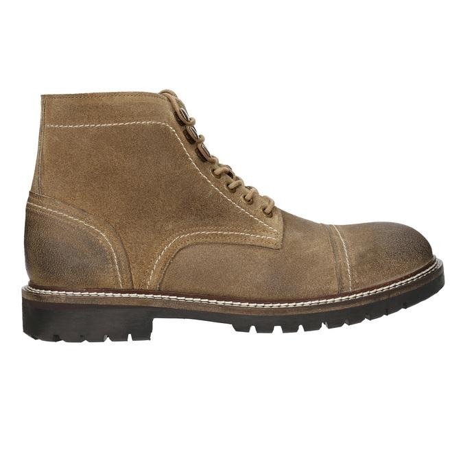 Členková kožená obuv bata, hnedá, 893-3653 - 15