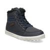 Detská obuv so zateplením mini-b, modrá, 491-9652 - 13